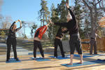 Andy teaches Yoga in Lake Arrowhead
