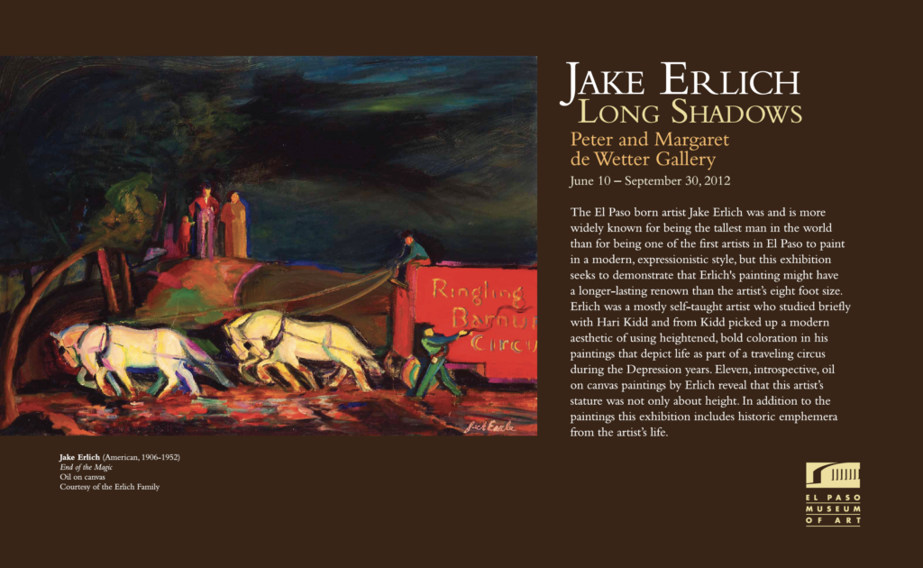 Andy Erlich | Jake Erlich's Art Exhibit